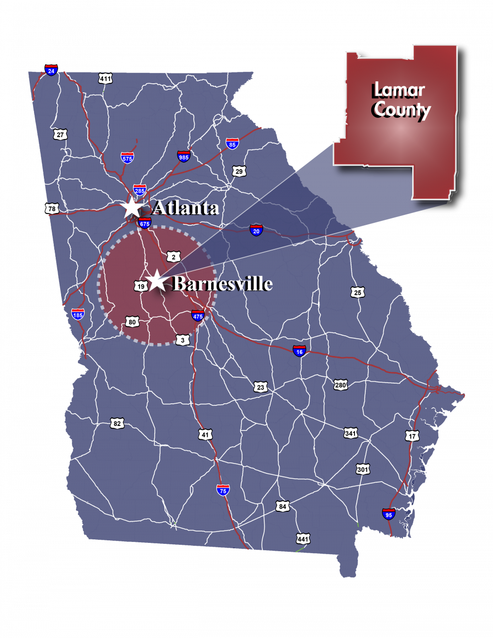 Turn Your Visit into a Location | Barnesville-Lamar County ...